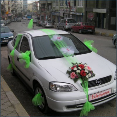 Gelin Arabası 10 Araç Süsleme