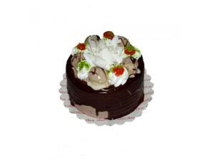 Küçük Çikolatalı Pasta -Org.