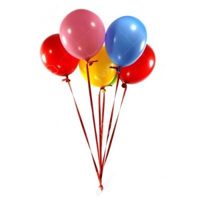Beşli Uçan Balon Buketi