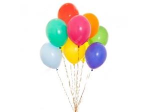 Dokuzlu Uçan Balon Buketi