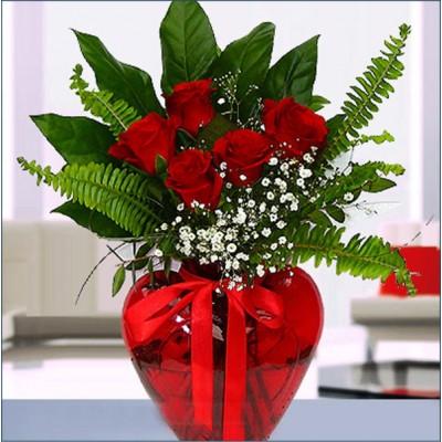 Sevgi Günü Sevgiliye Çiçek